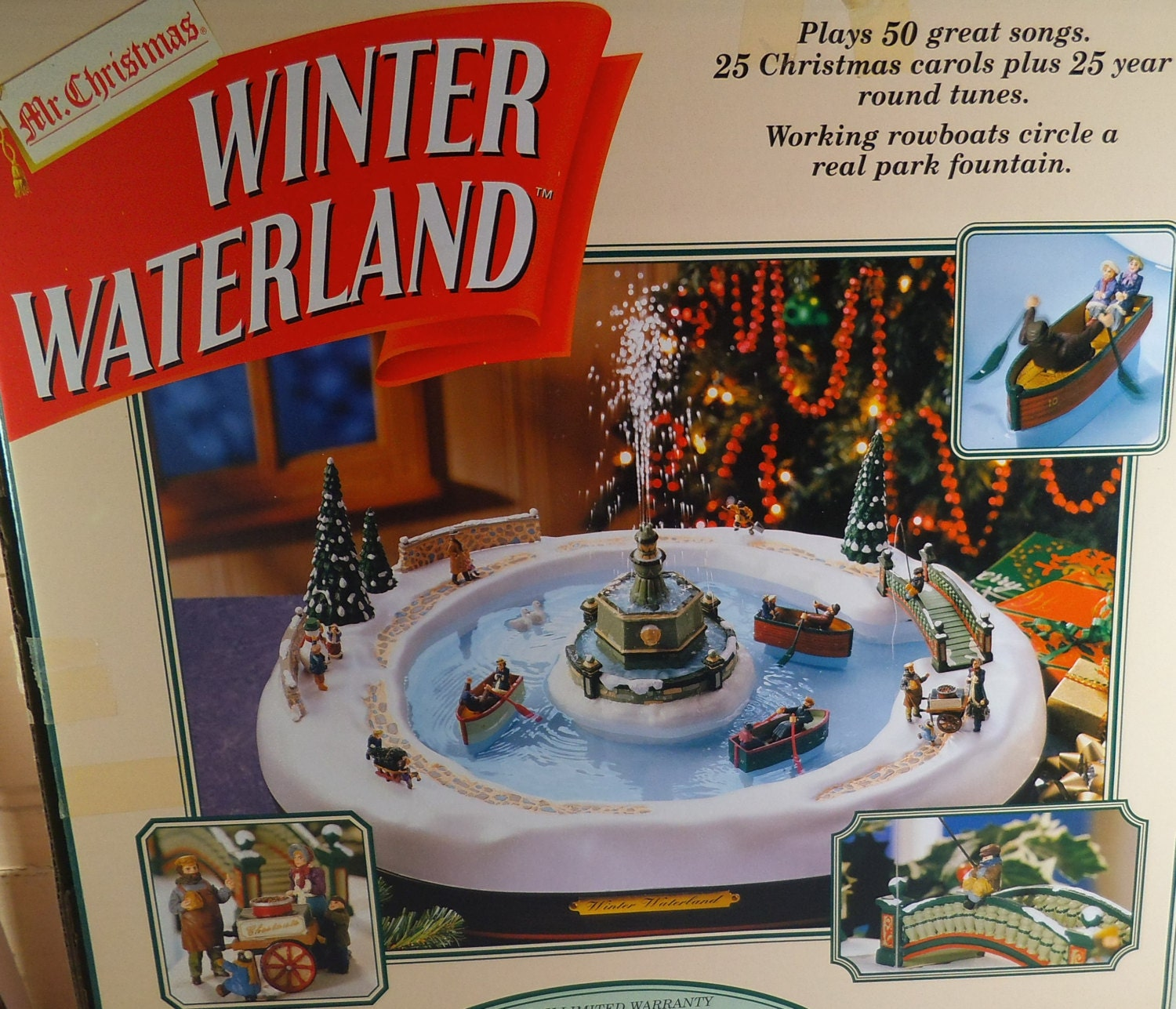 Mr christmas winter wonderland mechanical collectibles electric