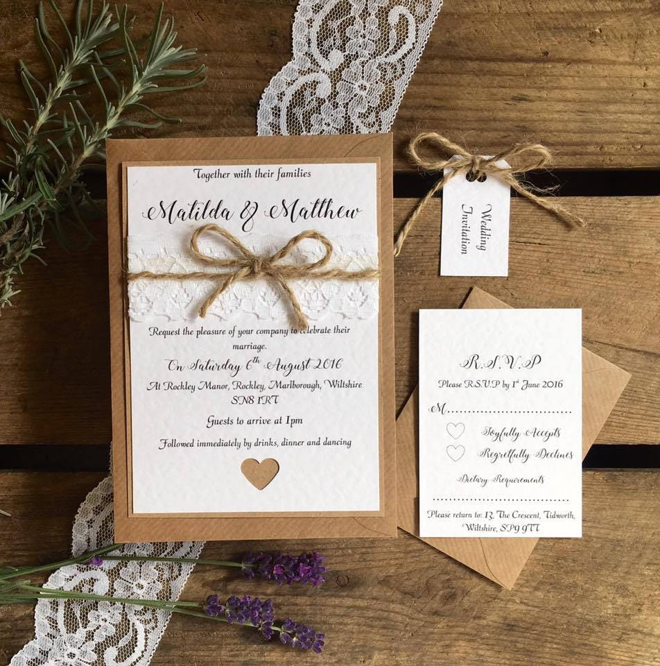 Greenery Themed Wedding Invitations from Etsy  The Budget