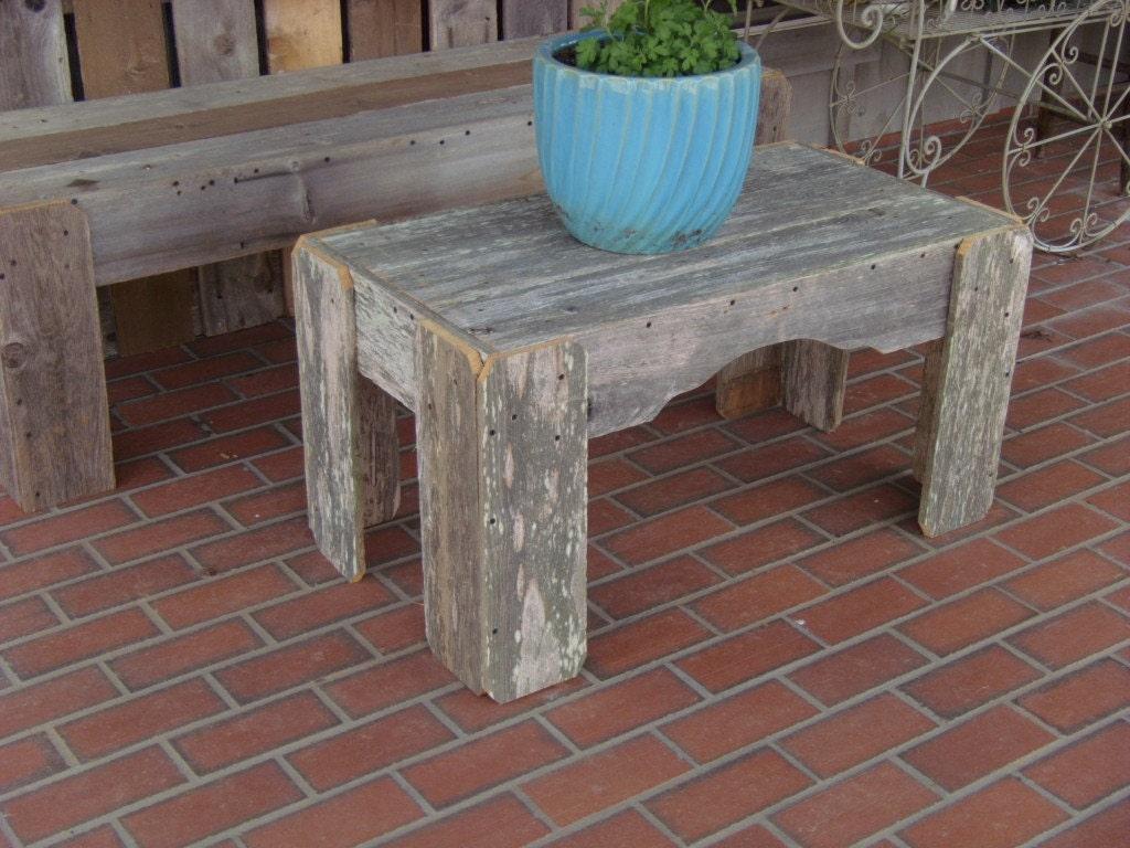 Rustic Coffee Table--Multifunctional Furniture