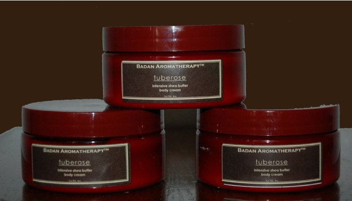 Tuberose Shea Butter Body Cream