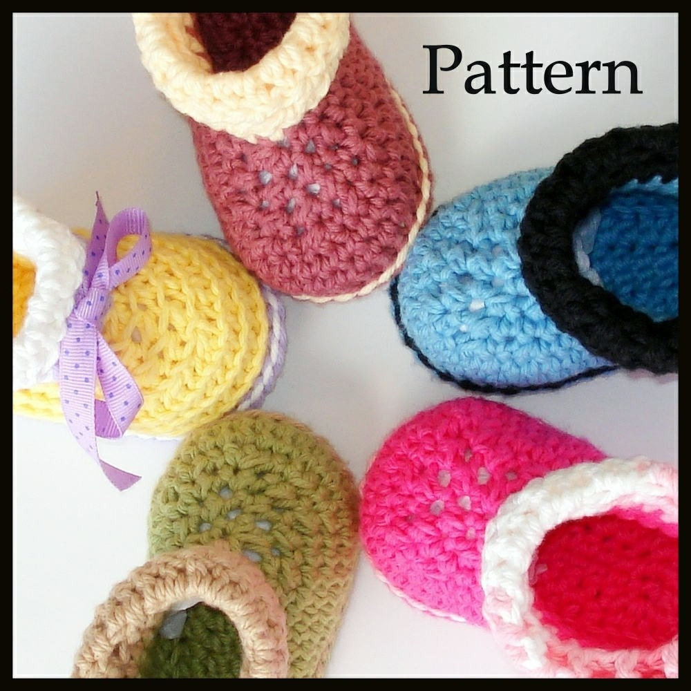 Beginners Crochet Slipper Patterns - overabove.eu