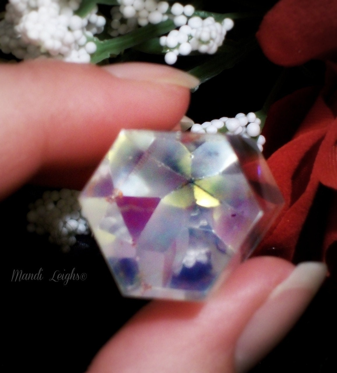 Angel Aura Crystal Standing Point AAA 27-35 x15-18 mm