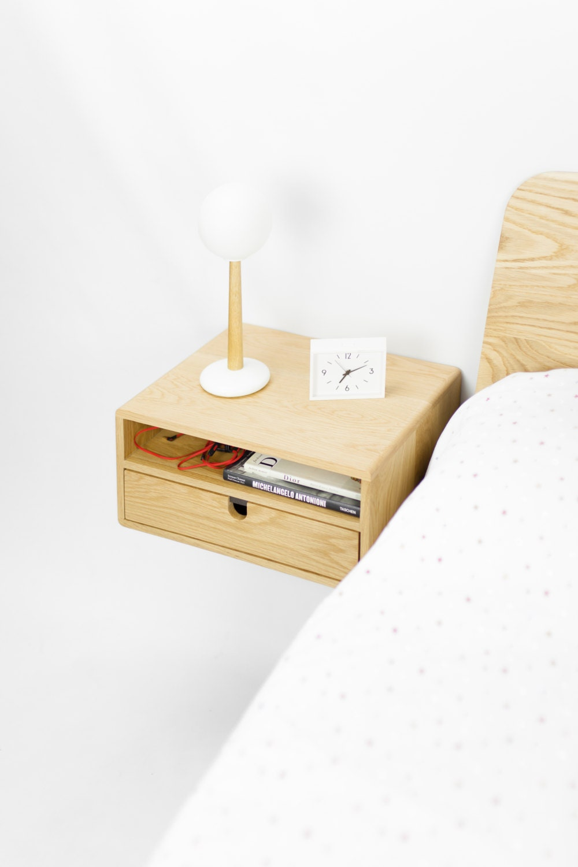 Floating bedside