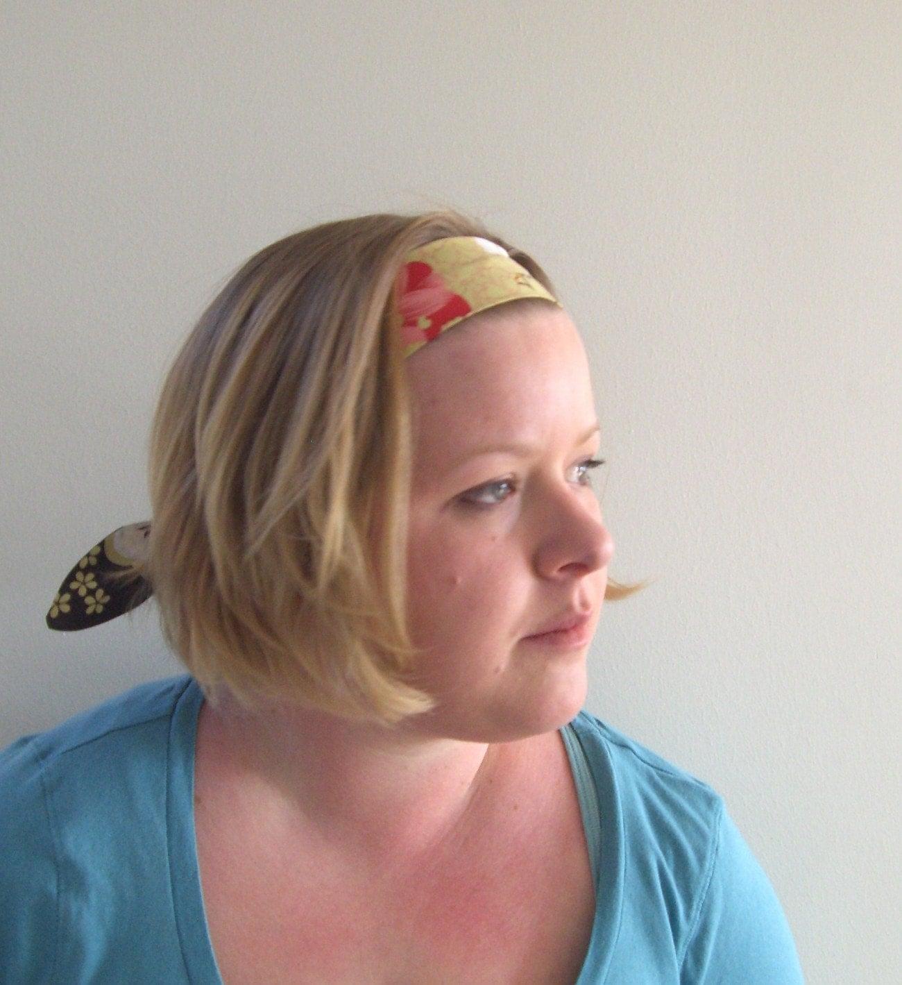 Asian Blossom flower Headband