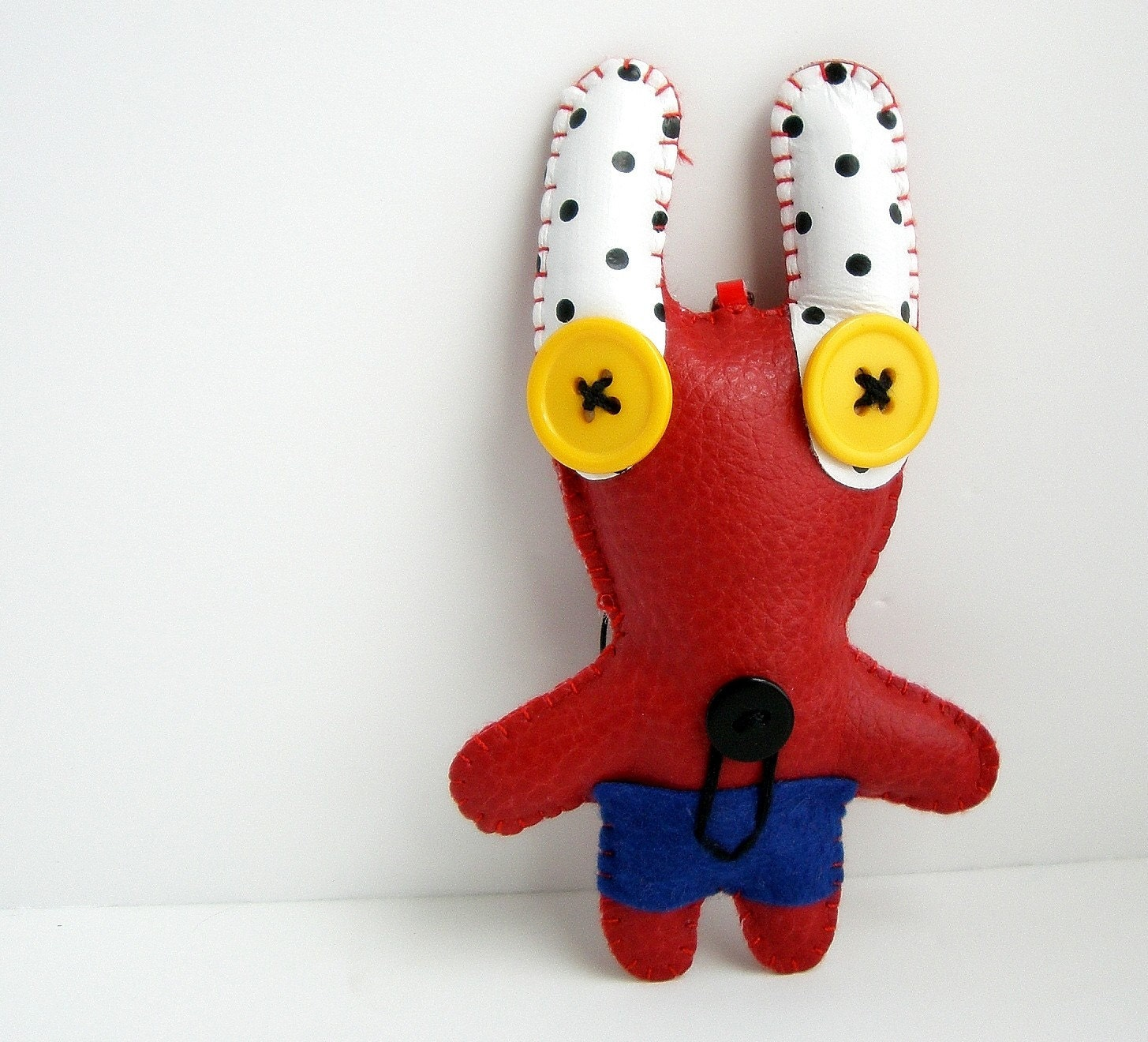 Little Plush Monster Key Ring
