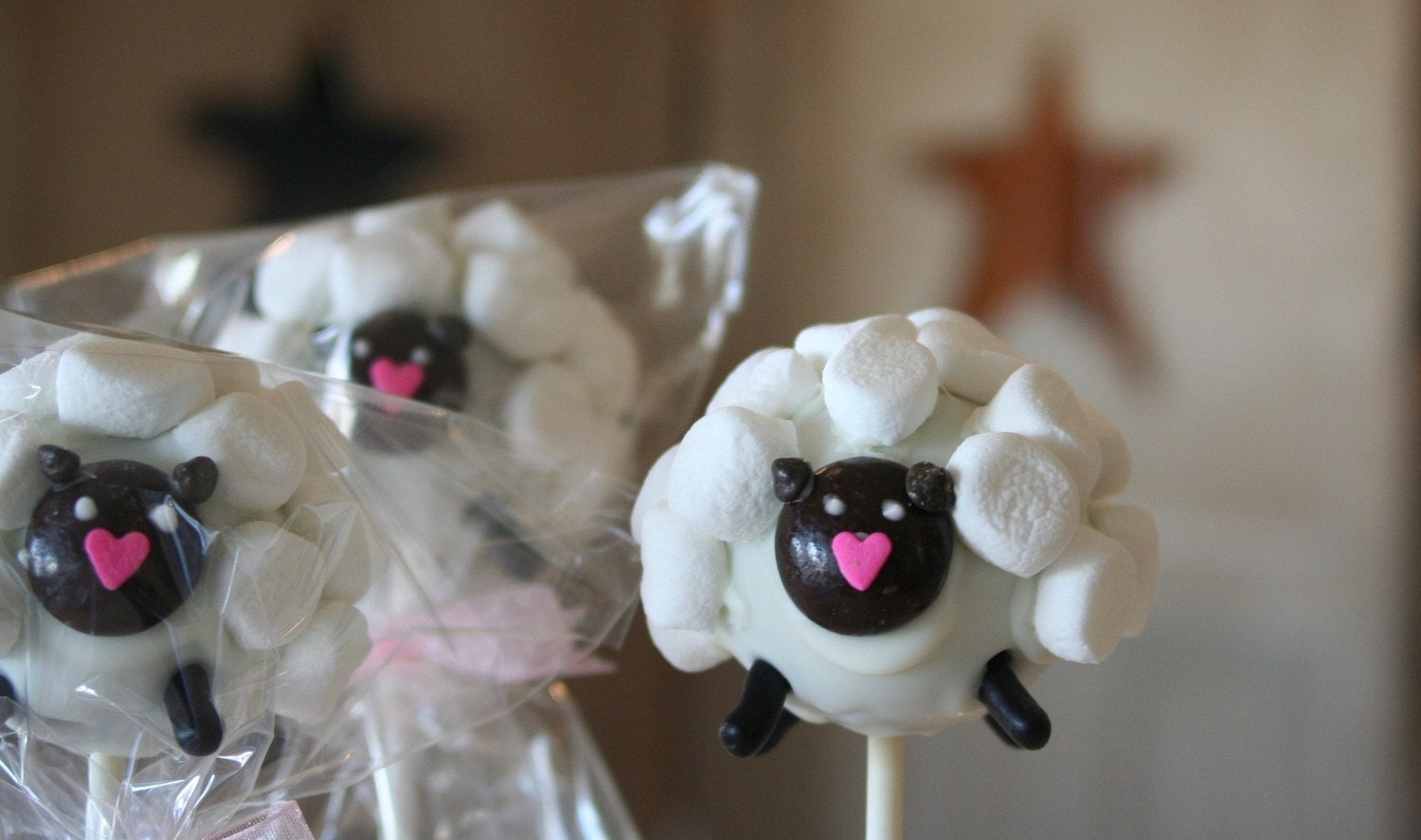 Mom's Killer Cakes & Cookies Sheep Cake Pops Perfect For Easter