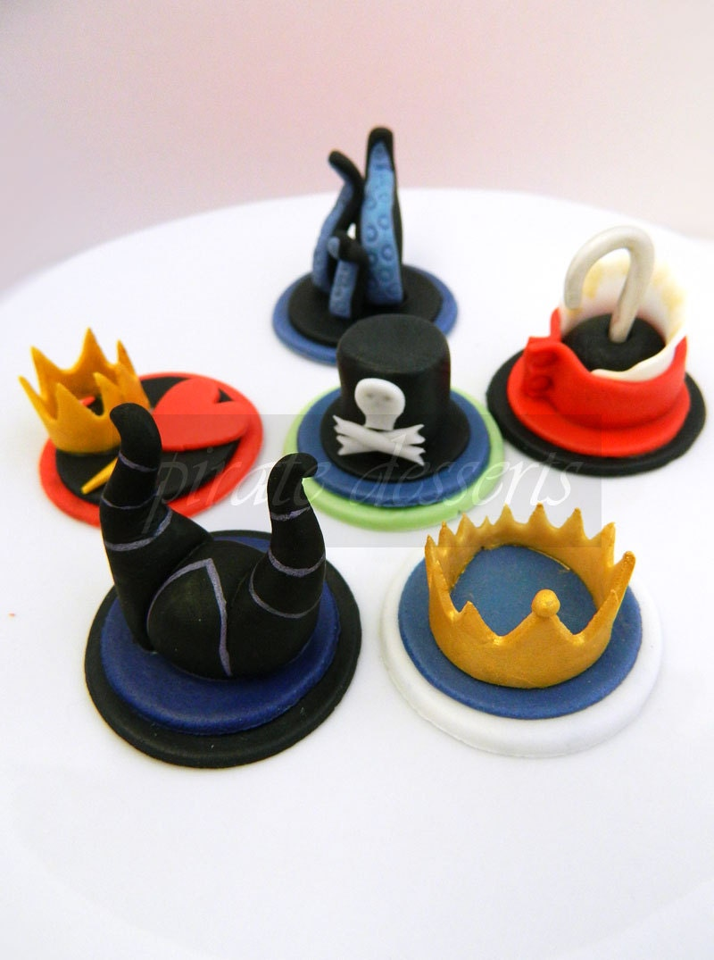 Kingdom Hearts Birthday Cake Toppers