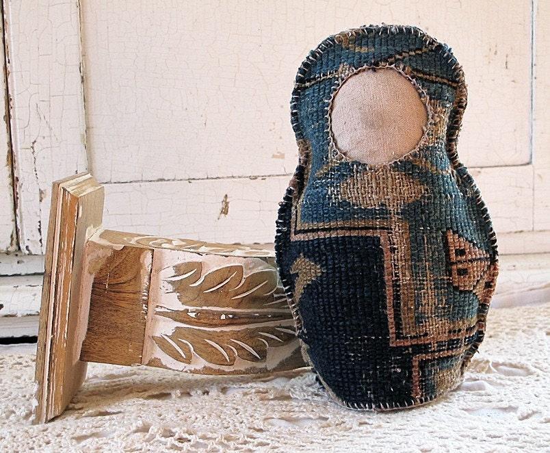 Babushka Carpet Doll