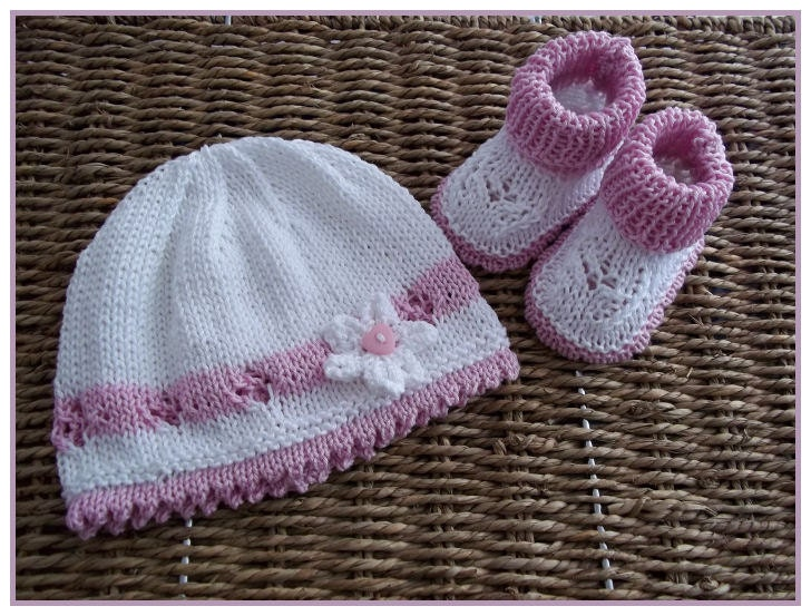Baby Knitting Patterns With Instructions : Newborn Hat Knitting Pattern   Design Patterns