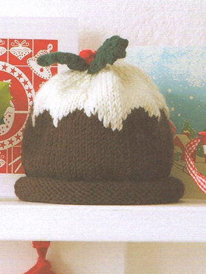 Hand Knitted Cashmere and Wool Christmas Pudding by scottishcraft