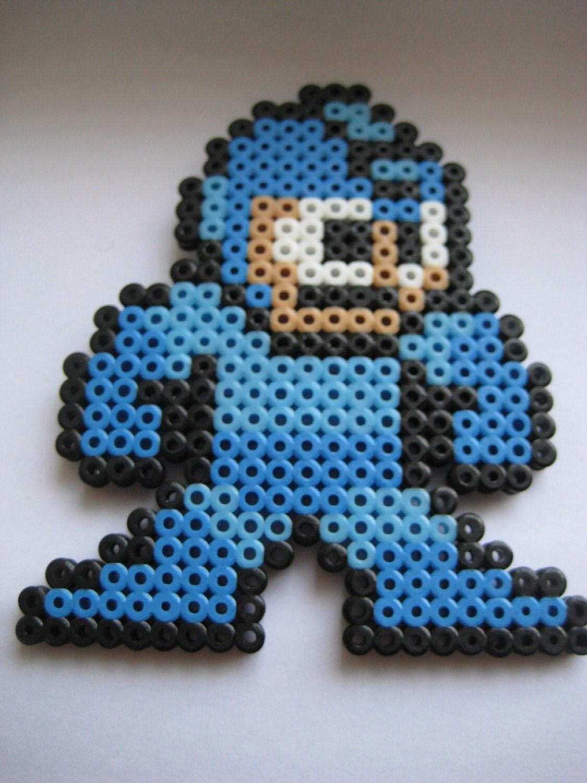 Mega Man Perler Bead By Pickledkitten On Etsy