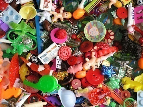 Grab Bag of charms, trinkets, nic-nacs, doodads, beads (50)