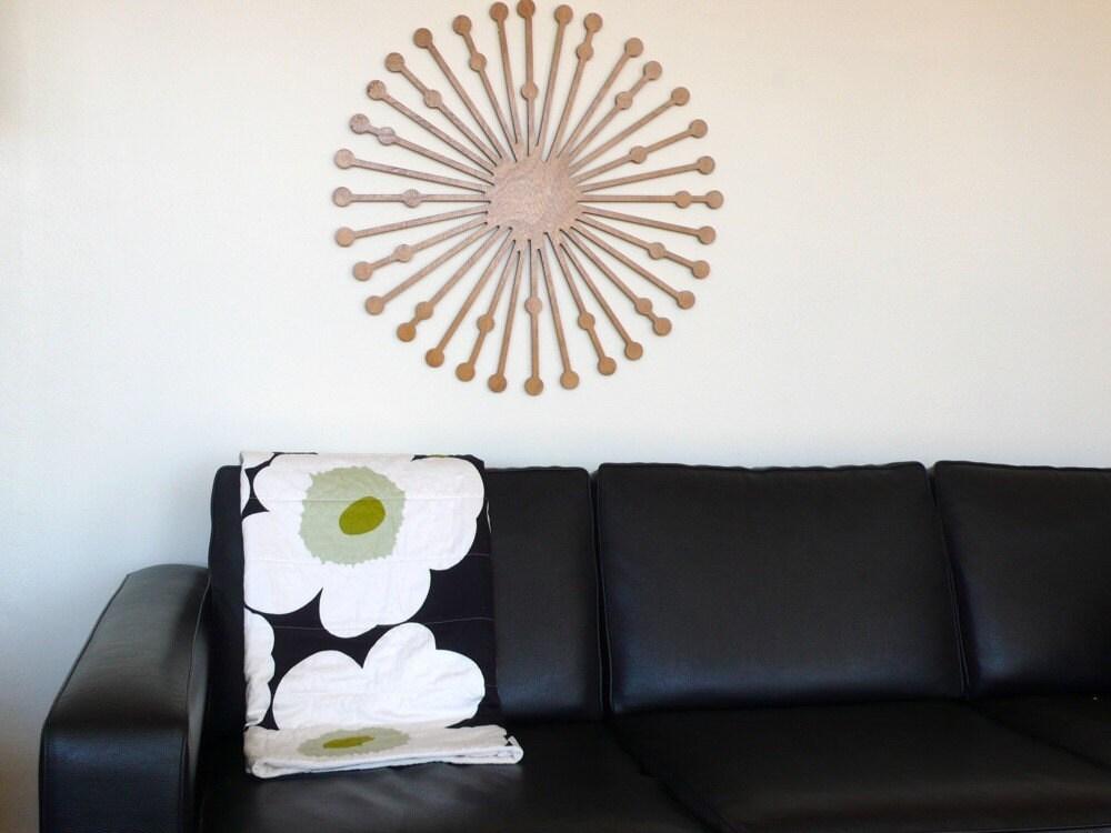 Marimekko eco quilt with Unikko print