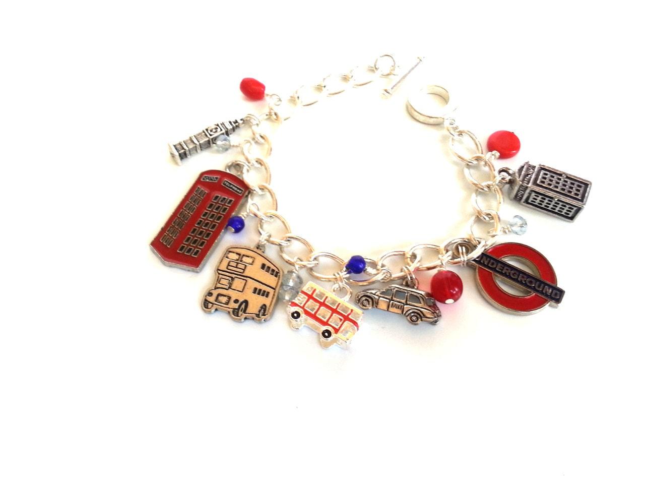 London calling charm bracelet - stellamystar