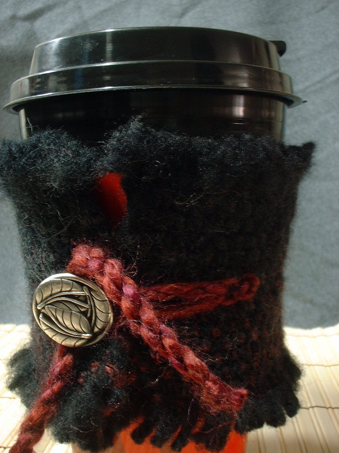 Embers Environmentally Friendly Handwoven Coffee/Tea Cozy