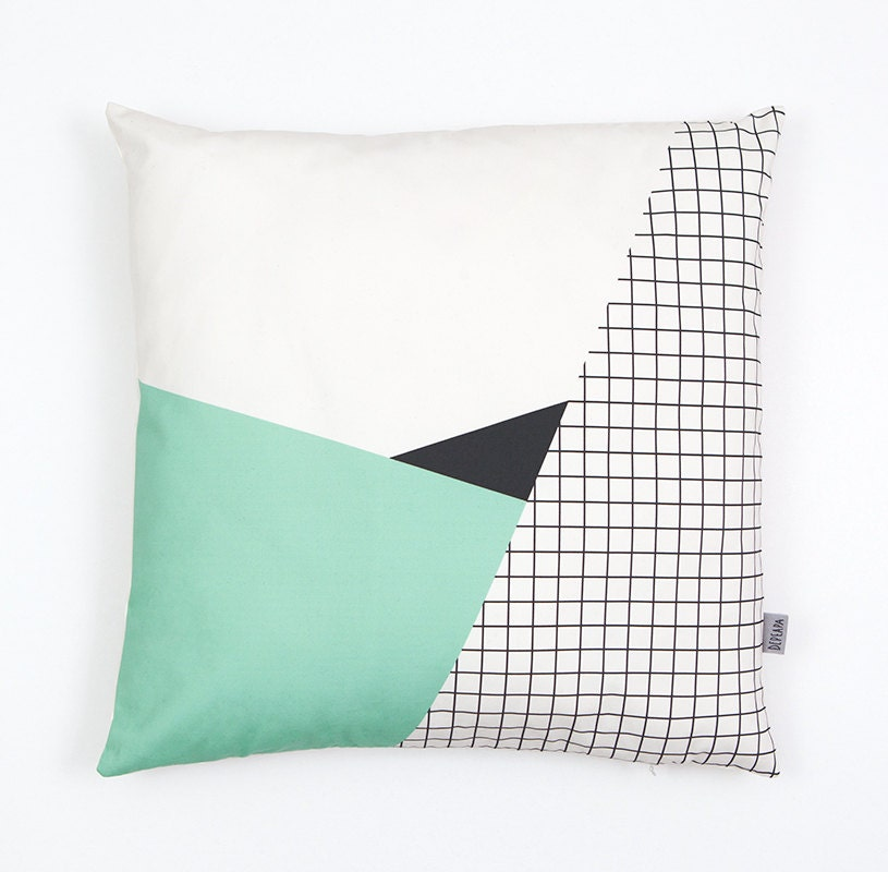 Memphis 2 Cushion Cover organic cotton twill - depeapa