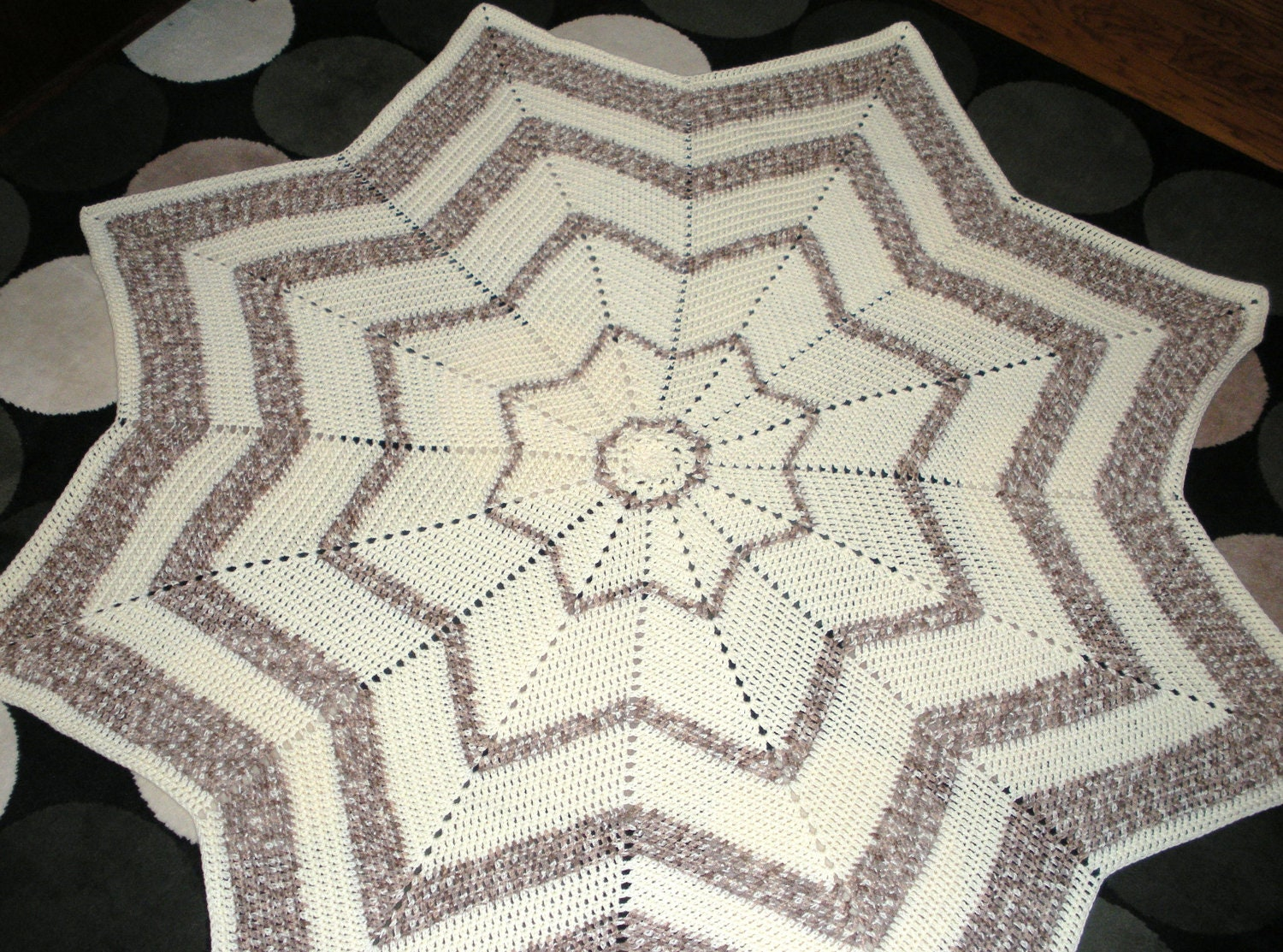 8 Point Star Crochet Pattern Free ~ manet for .
