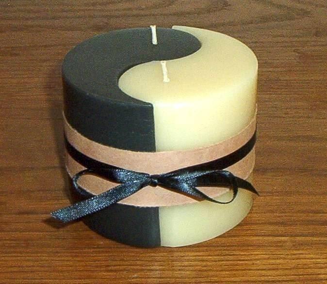 Yin-Yang Candle Set (Vanilla)