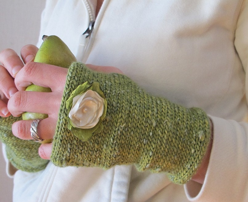 Woodland Faerie Fingerless Gloves