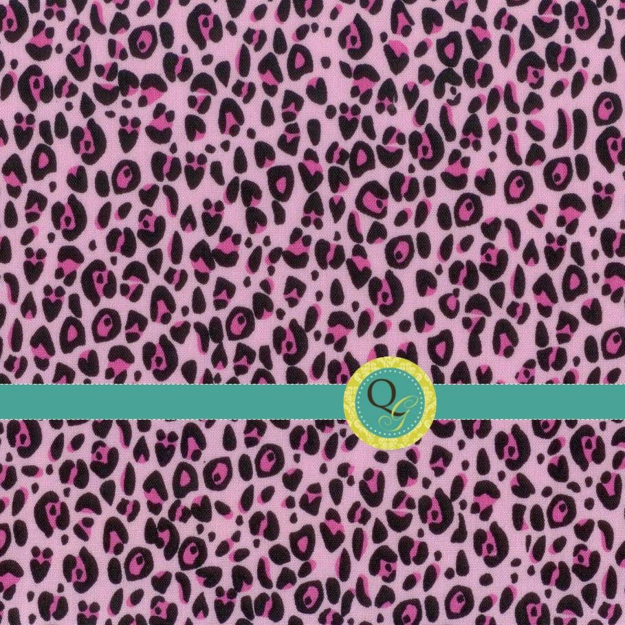 Items similar to designer fabric by the yard pink cheetah for Designer animal print fabric