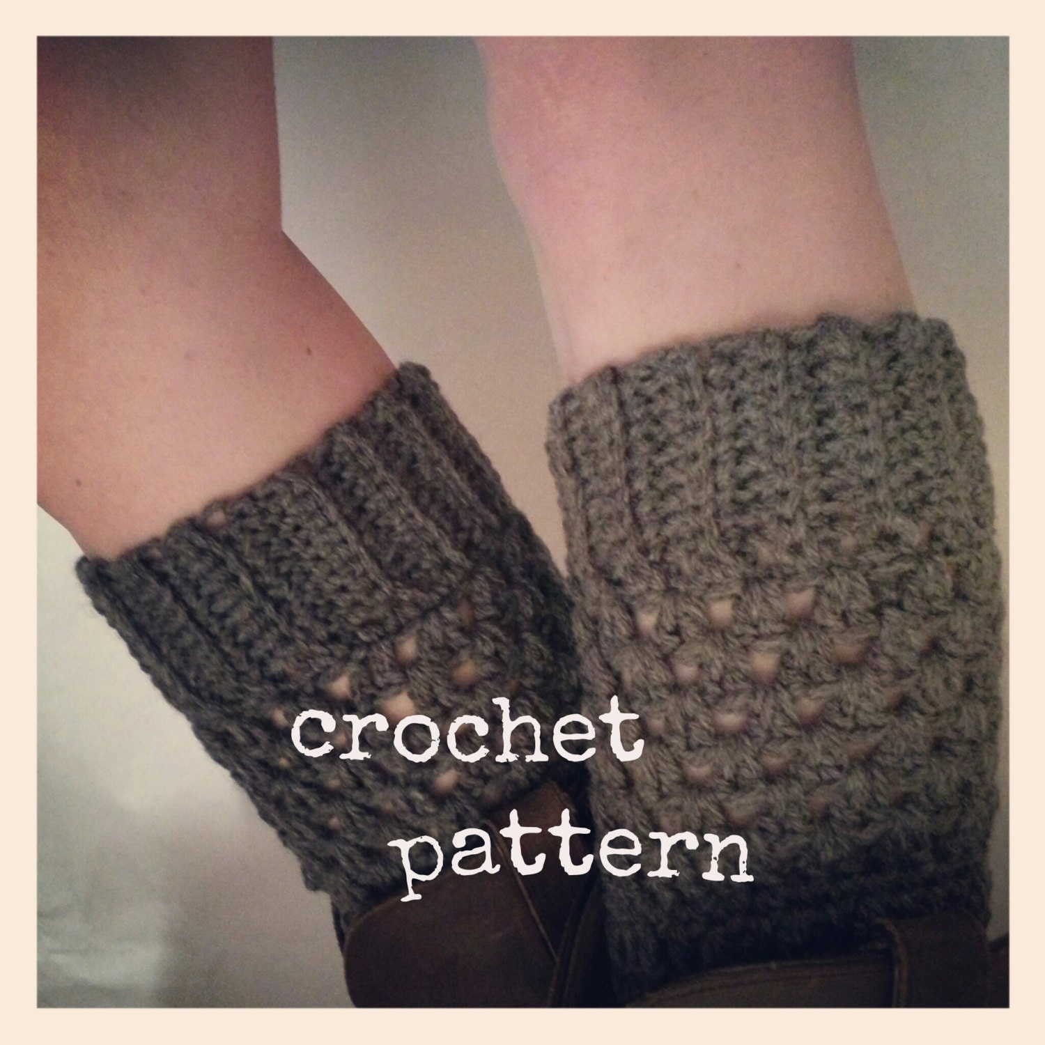 Free Crochet Patterns For Boot Warmers : Unavailable Listing on Etsy