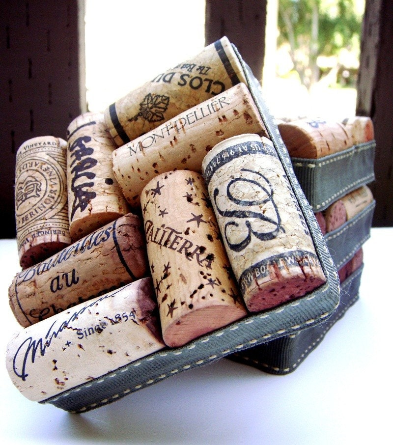 WINE CORK COASTERS (Set of 4)