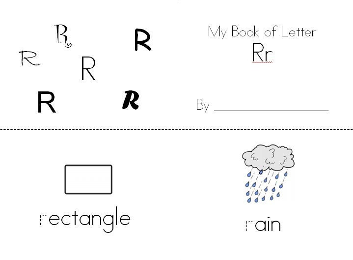 Adorable image with alphabet booklets printable