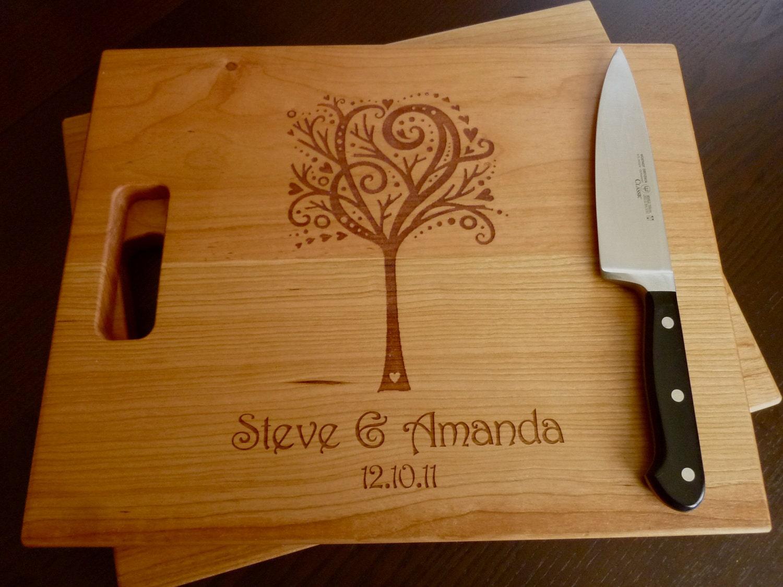 Personalized Cutting Board Custom By Taylorcraftsengraved