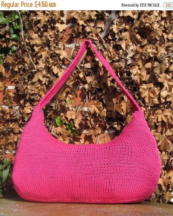 50 OFF SALE madmonkeyknits slouch bag pdf knitting pattern  Instant Digital File pdf download knitting pattern