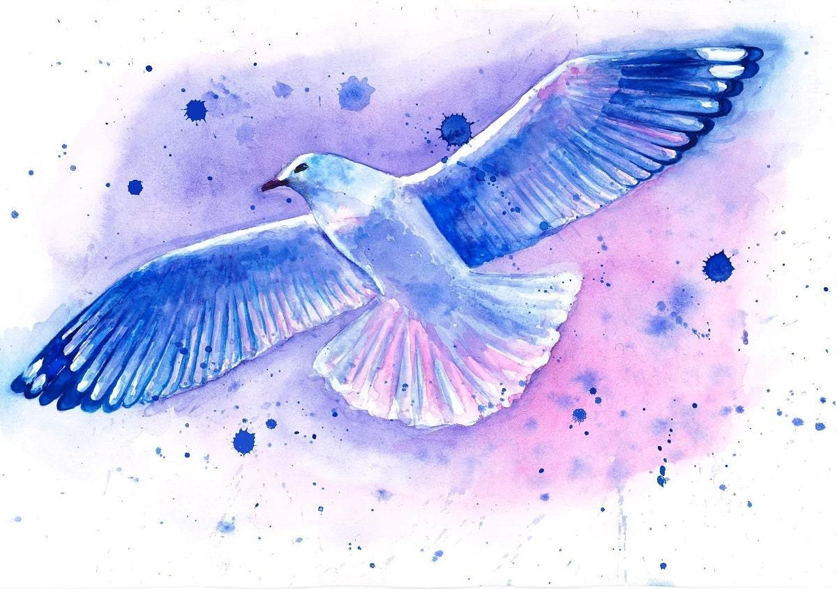 Bird paintings modern - photo#22
