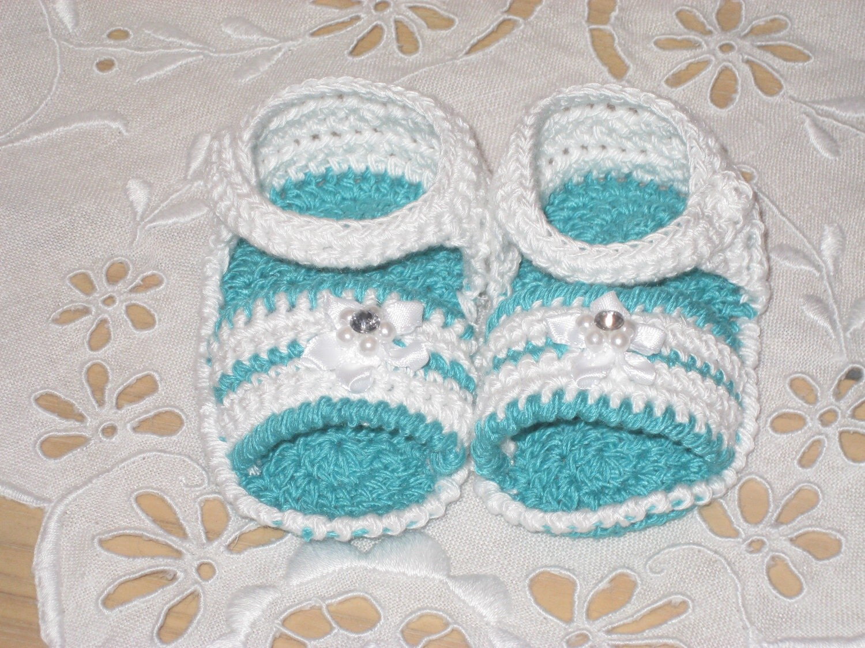 ♥♥ جوارب أطفل من الكروشيه ♥♥ Il_570xN.334275010