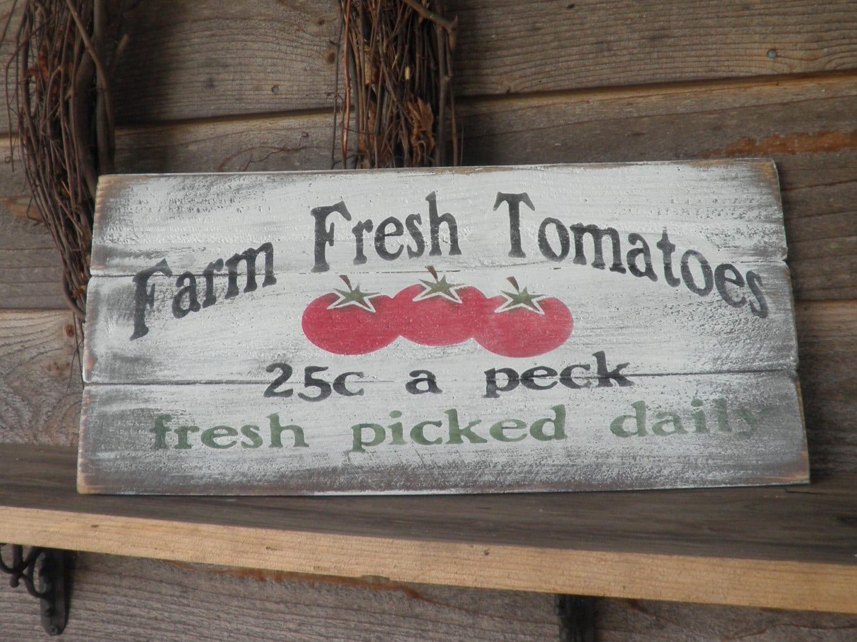 Primitive country decor kitchen sign farm by mockingbirdprimitive