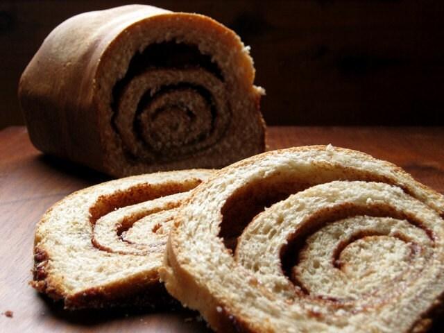 Sweet Cinnamon Swirl Toast - Single Loaf