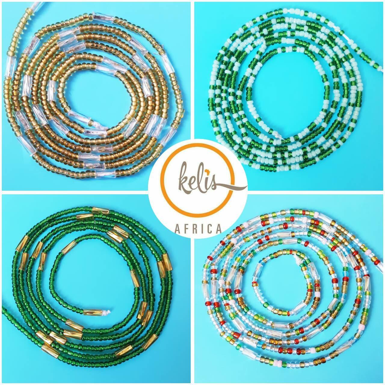 NEW SALE !!Waist Beads  String of west african beads Waistbeads