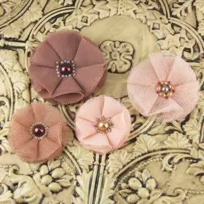 Faience Bradstreet گل پارچه