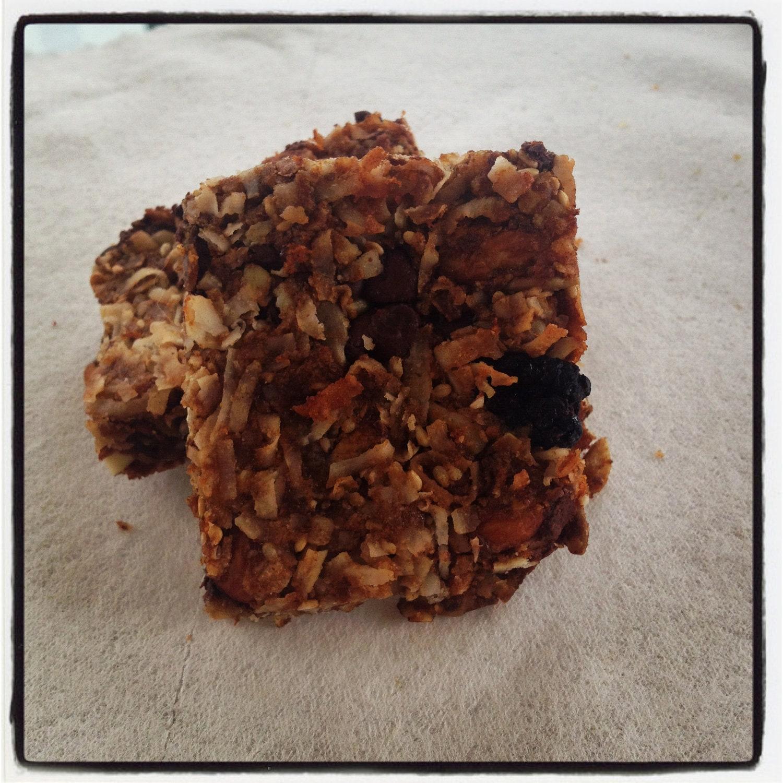 6 Grain free/almond flour granola bars