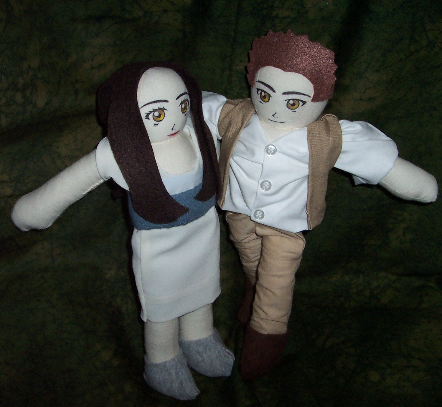 Twilight New Moon Edward and Bella Dolls