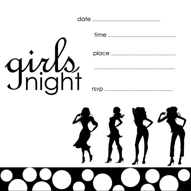 Girls Night Out Invitation was amazing invitations template