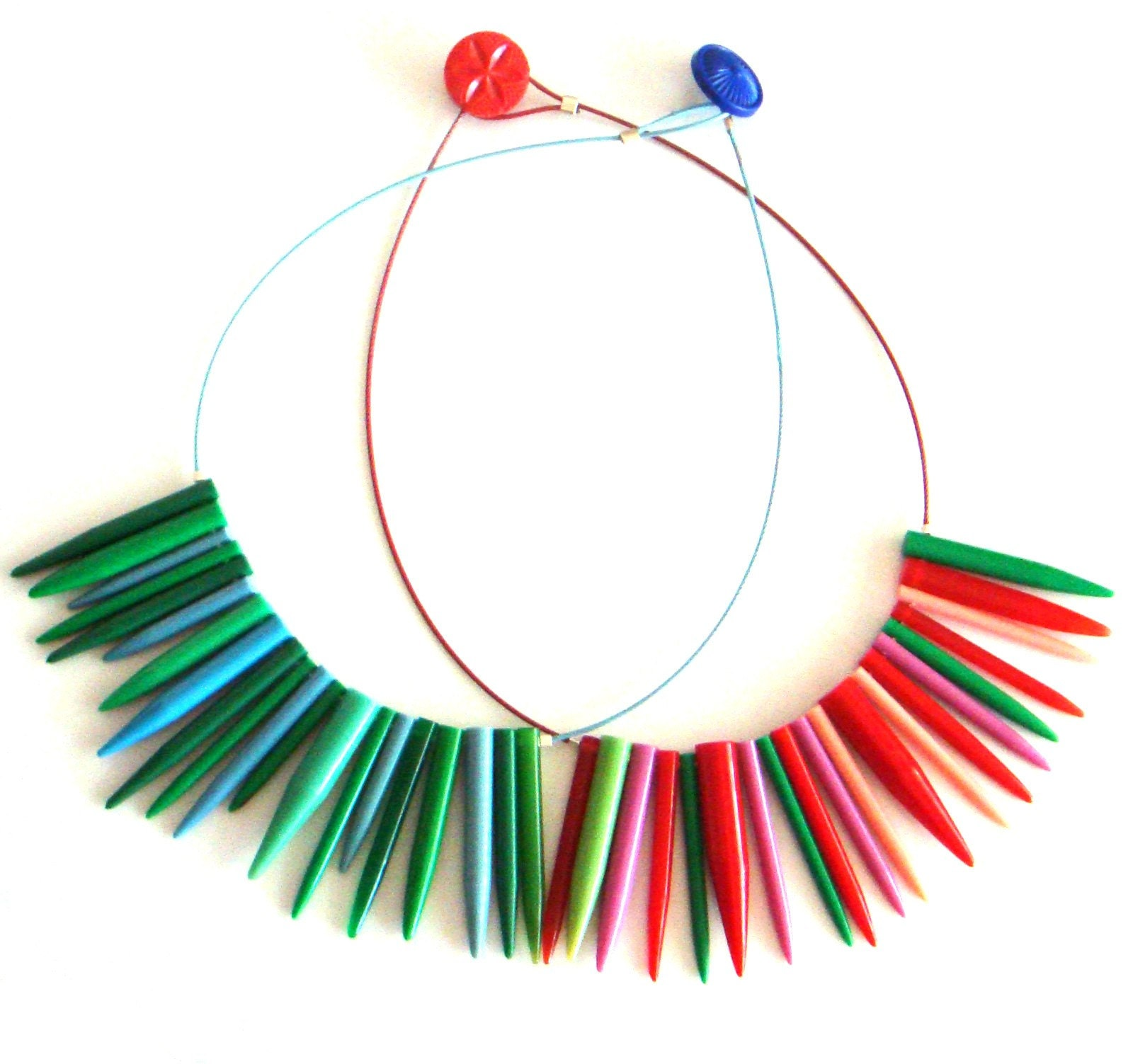 Knitwit Necklace by Liana Kabel