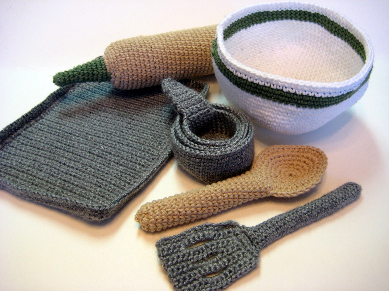 Baker's Supplies - Crochet Pattern