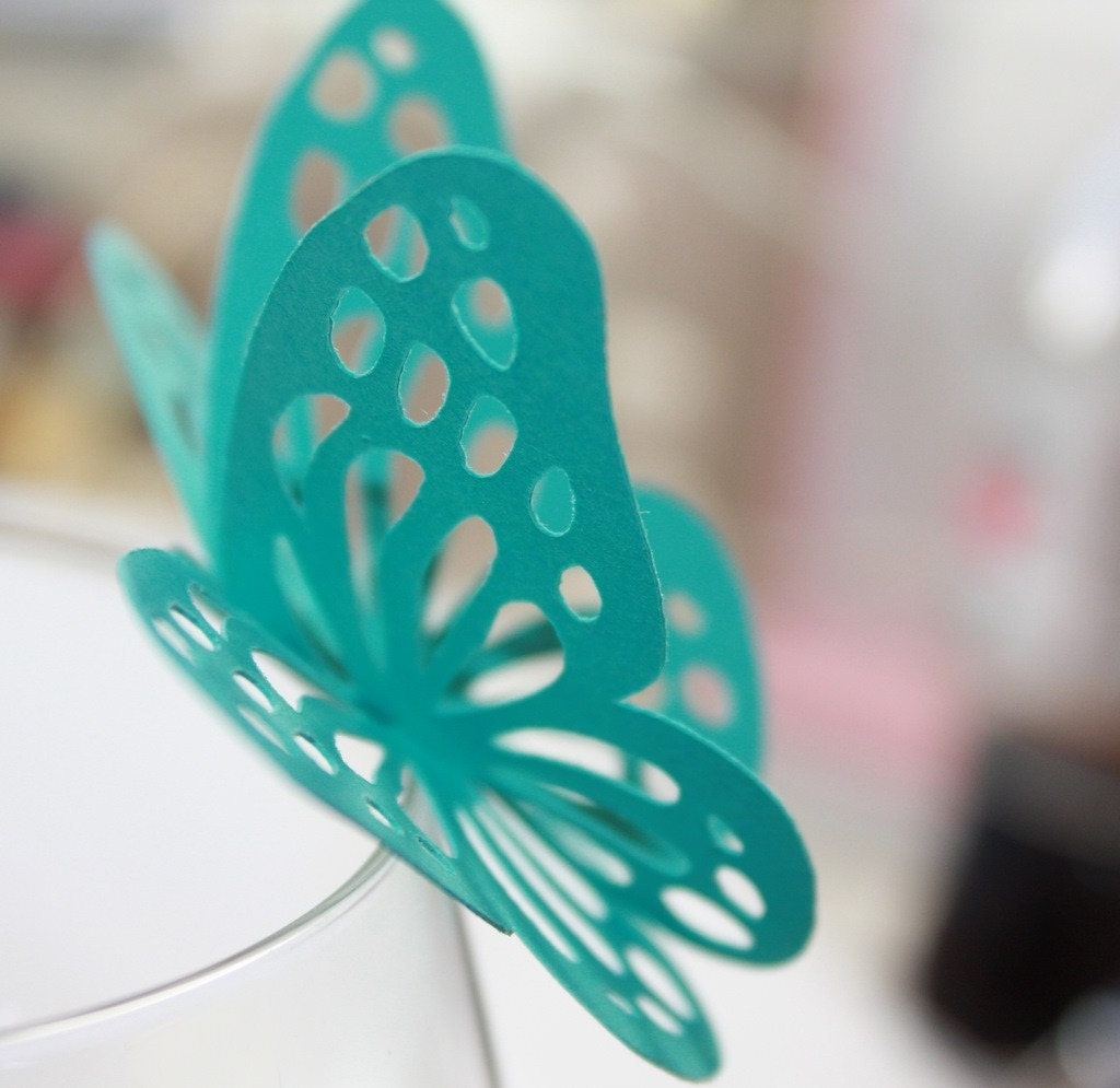Butterfly beauty - Summertime Teal