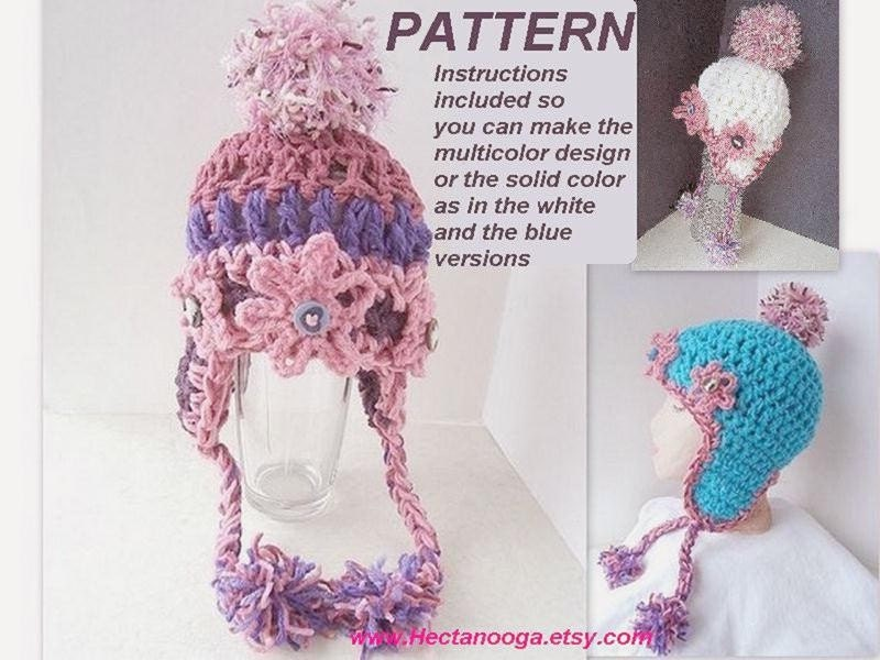 Crochet Ear Flaps Free Hat Pattern Free Patterns For Crochet