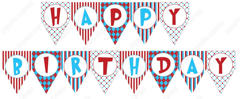 free printable birthday banner - anuvrat.info