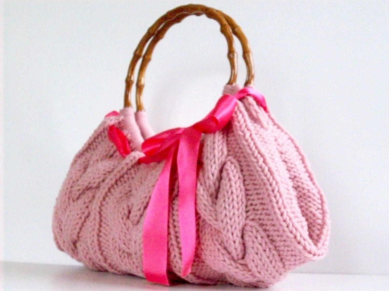 Вязаные сумки, фото. Вязанная сумка спицами. Как шить игрушки из фетра. сумка chanel