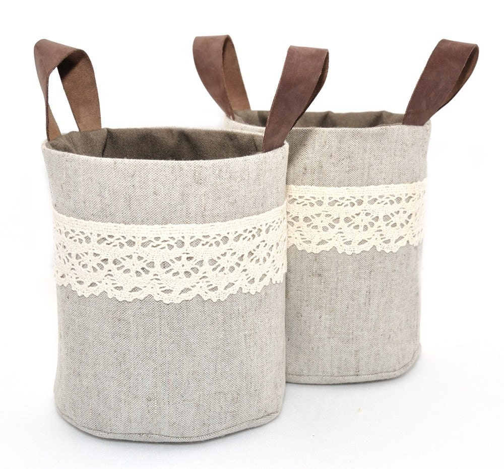 Mini Ollyvia Fabric Baskets Set