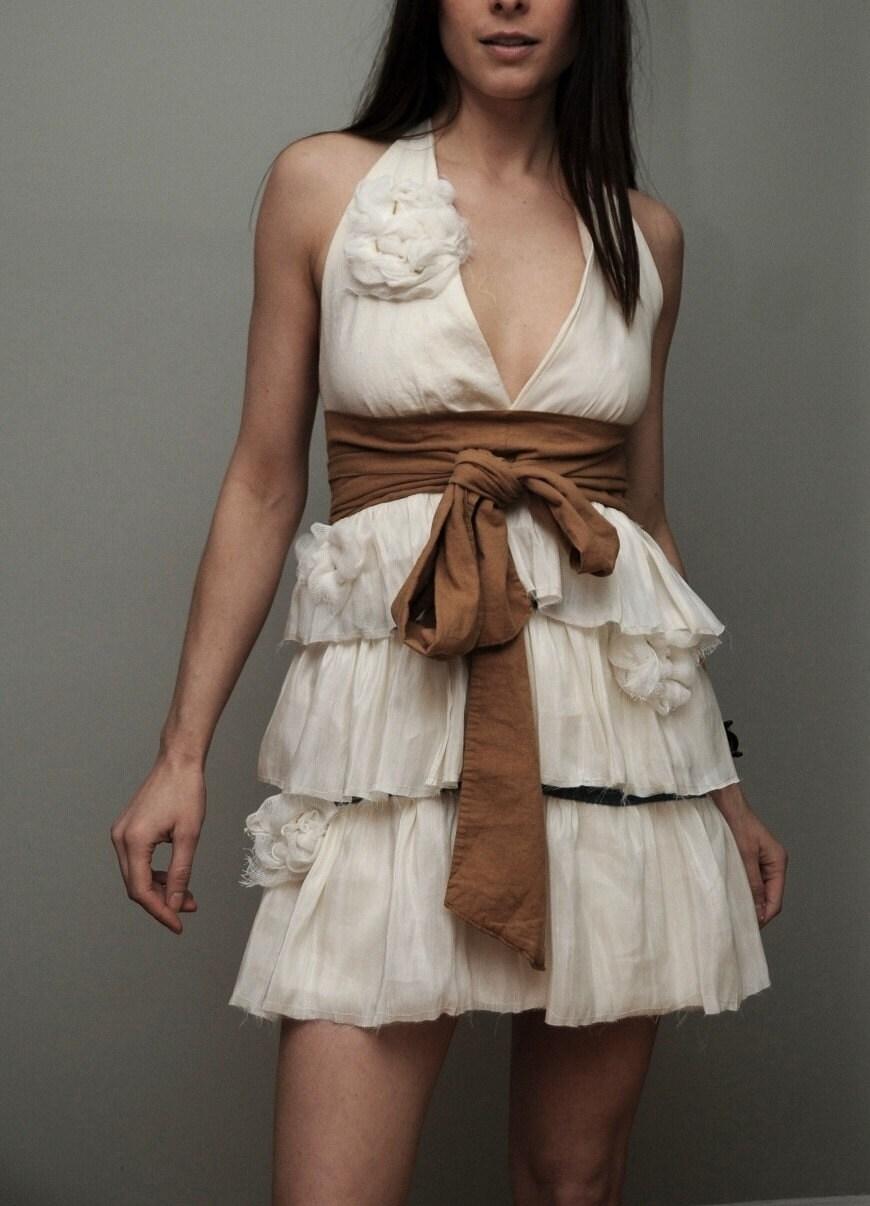 Pretty Birdie's Hemp Silk Layer Dress