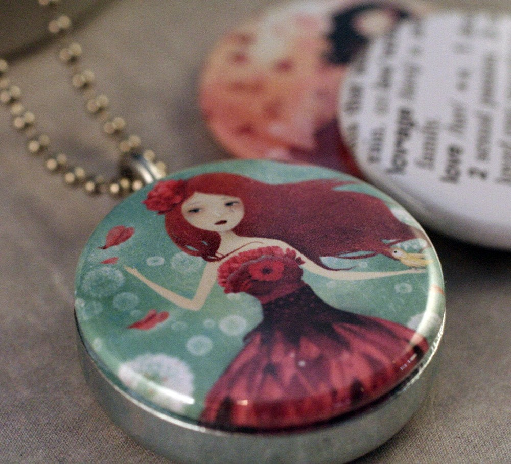 LOVE Interchangeable Locket Set By TheNebulousKingdom and Polarity