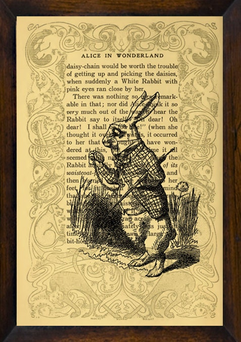 vintage alice in wonderland book eBay