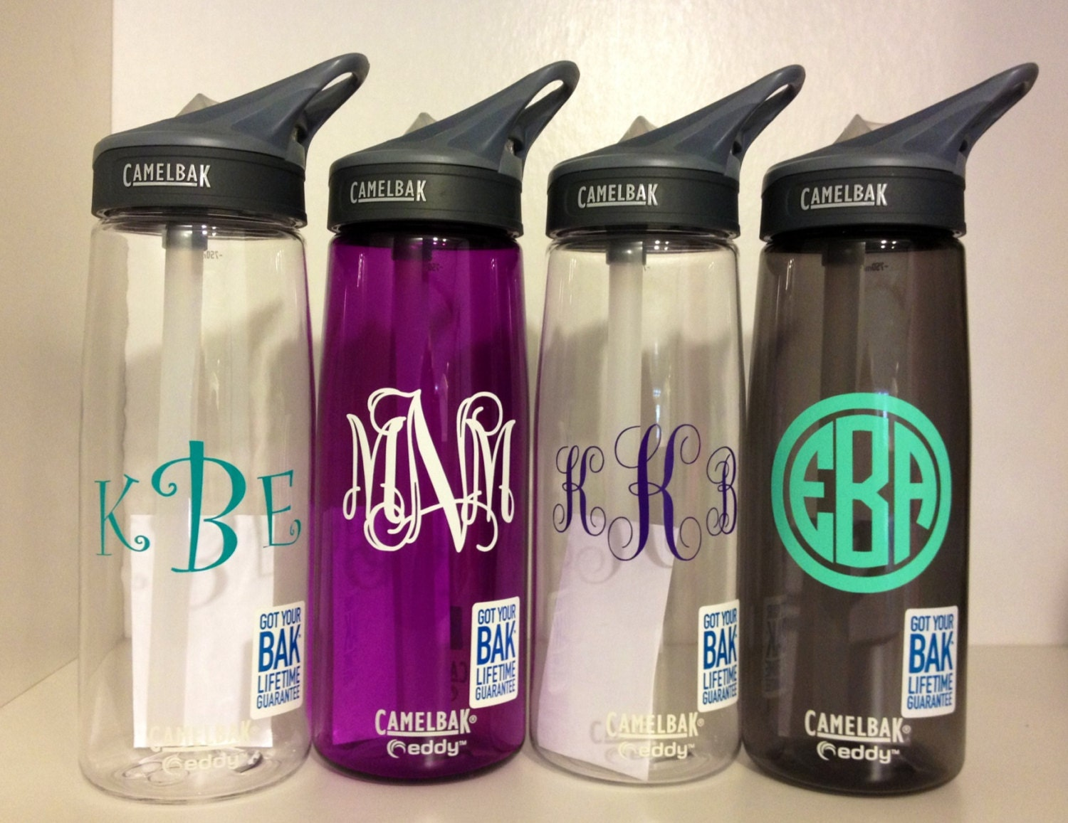 SALE Monogrammed Personalized Camelbak Water Bottle. Perfect Gift