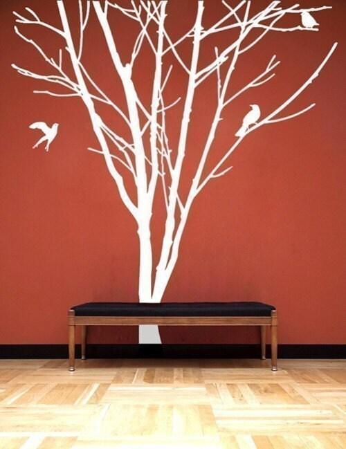 NEW DESIGN  Wall Art Home Decor Murals Vinyl Decals Stickers---GIANT TREE